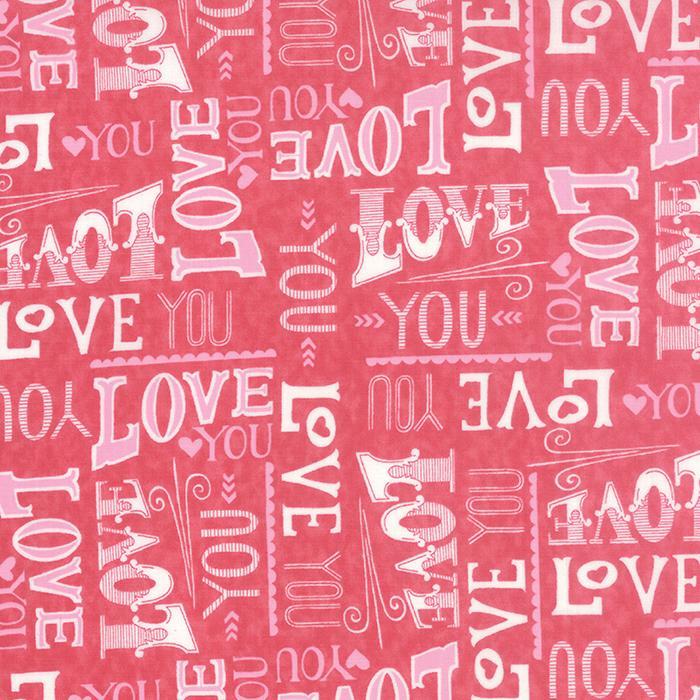 Moda - Hugaboo-Love You Pink - 19732 11