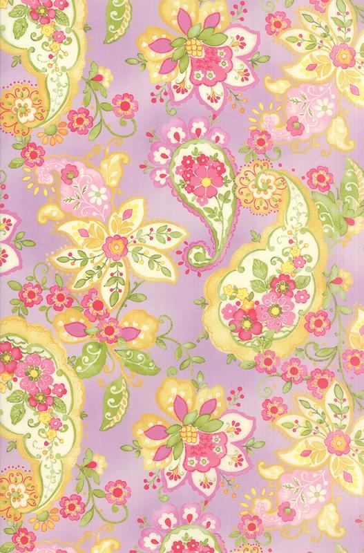 Colette Floral Paisley Violet