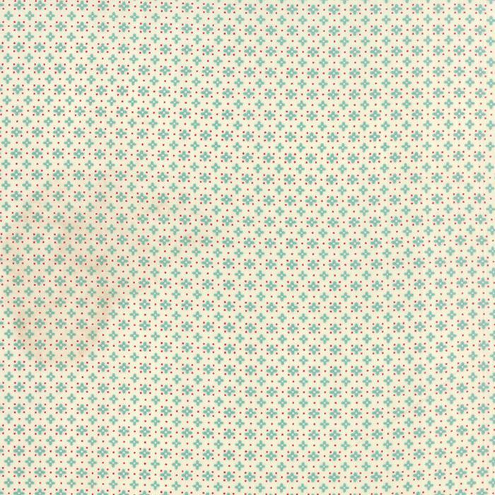 Moda Hometown Girl Prints 43066-11 Cloud Aqua