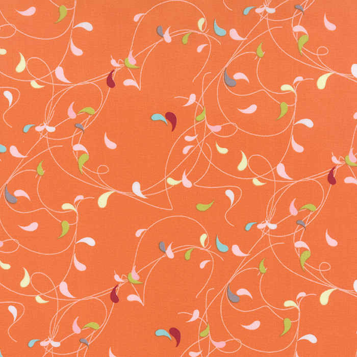 1591 11 Flow Splash by Zen Chic for Moda Fabrics. 100% cotton 43 wide