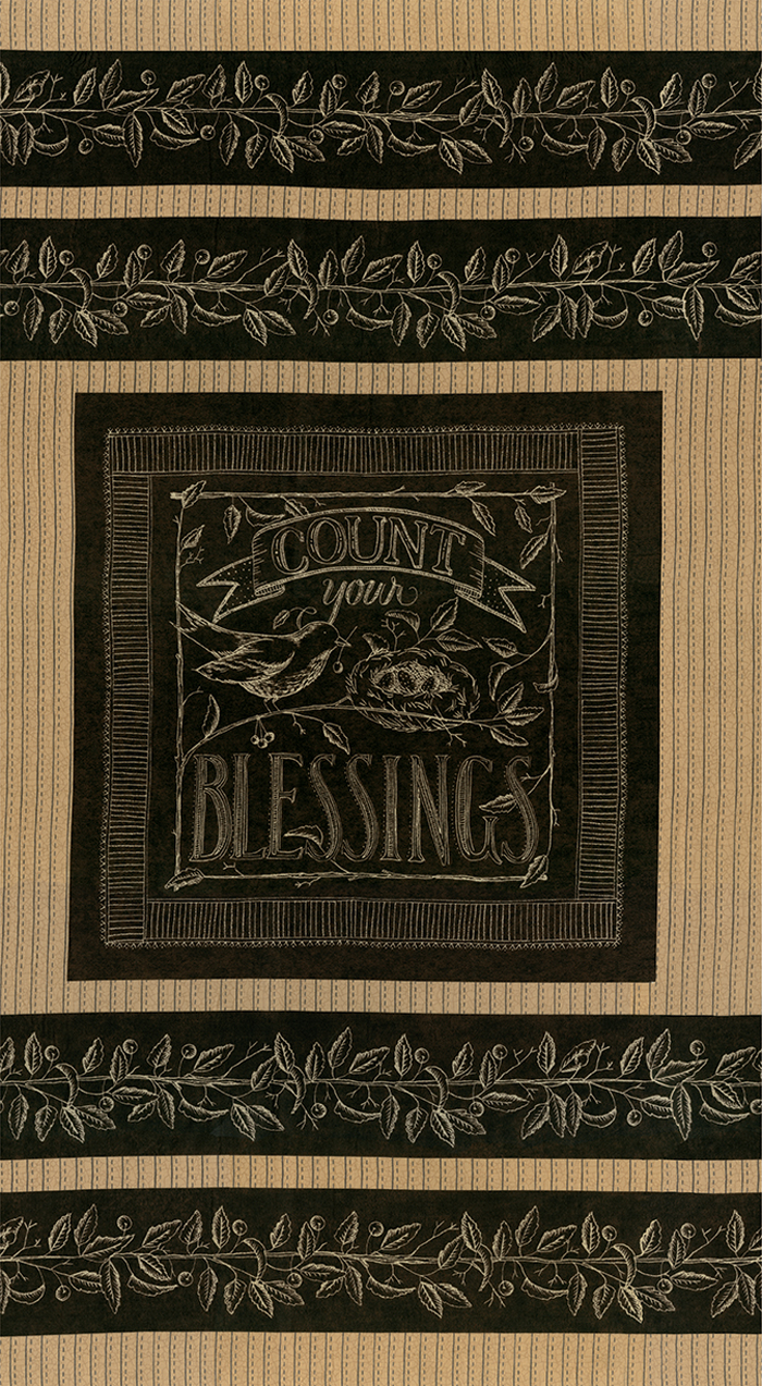 Count Your Blessings Blackboard