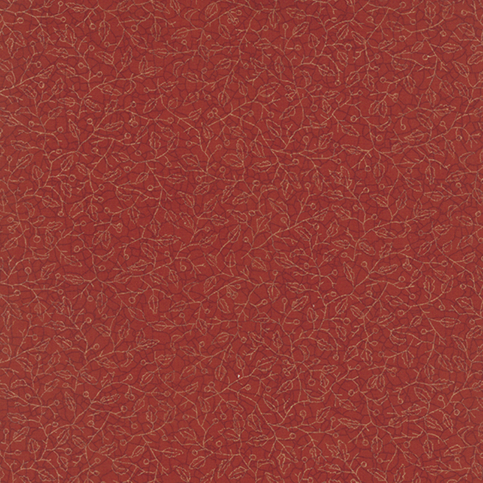 6083 15 Count Your Blessings Brick Red