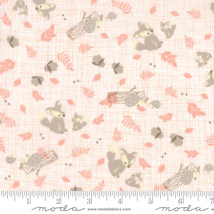 Lullaby Woodland Critters Peach