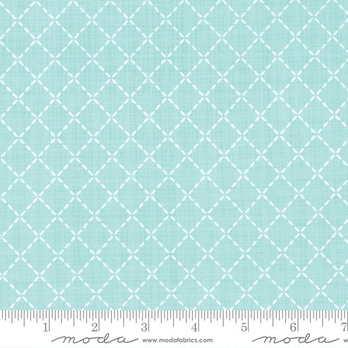 Lullaby Quilted Aqua