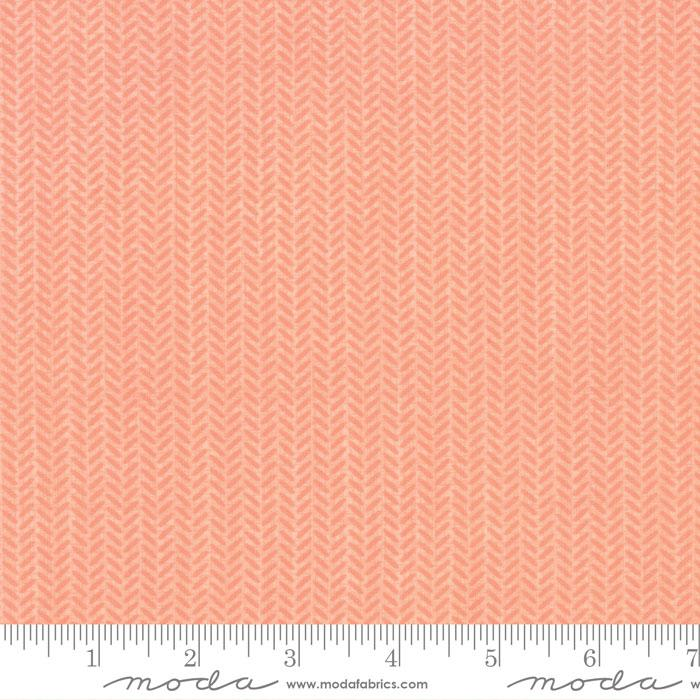Lullaby Herringbone Peach