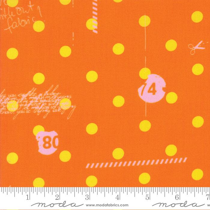 Hey Dot My Polka Dot Orange