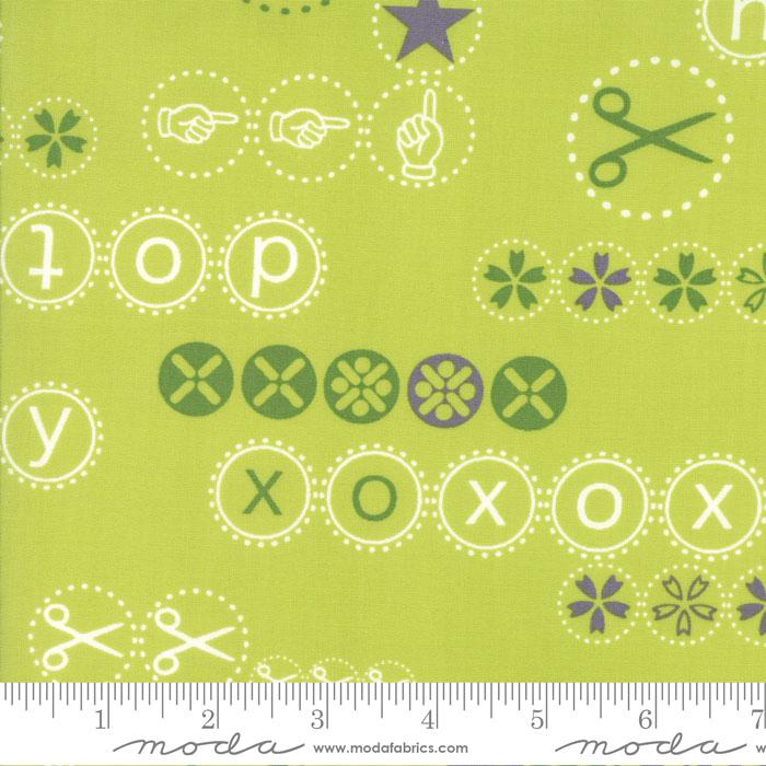 1601 15  Hey Dot Mint by Zen Chic for Moda Fabrics. 100% cotton 43 wide