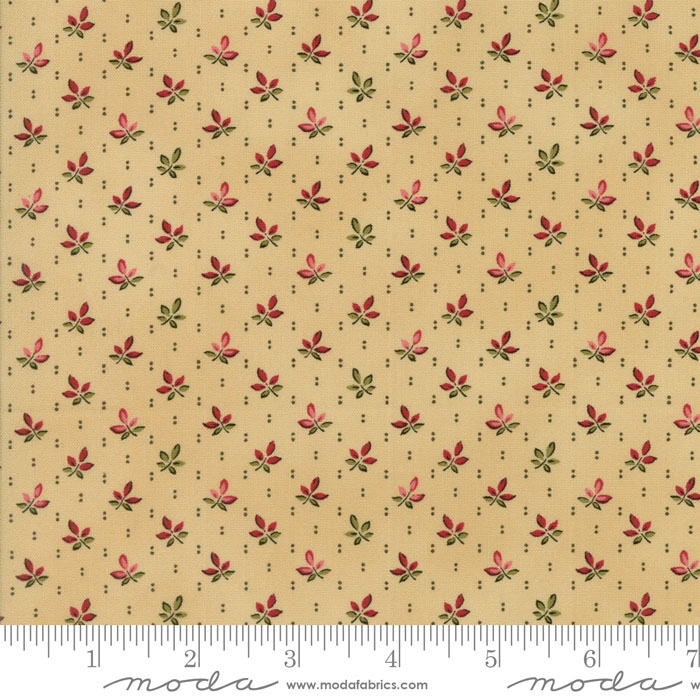 Pumpkin Pie Prints Caramel 1 3/4 yds