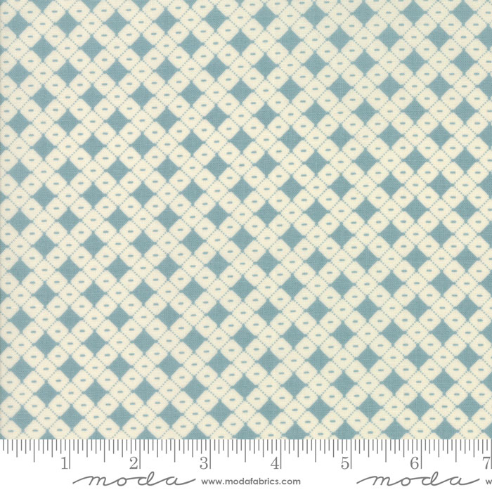 Hop Skip And A Jump Sky Square dot by American Jane