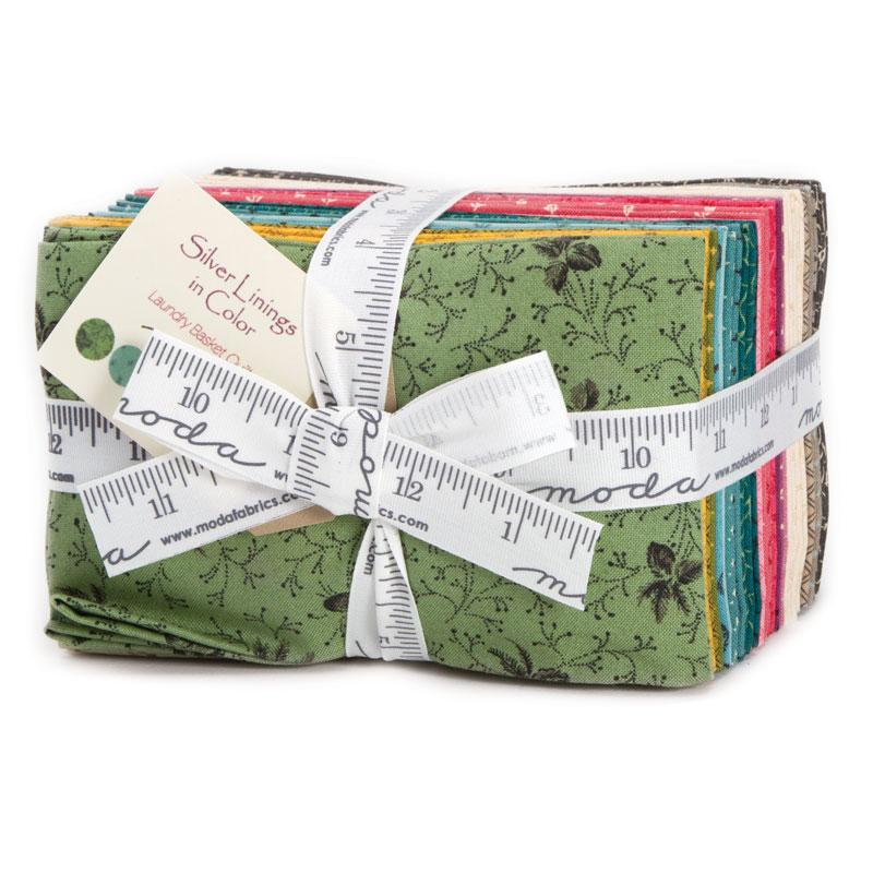 Silver Linings Color Fat Eighth Bundle