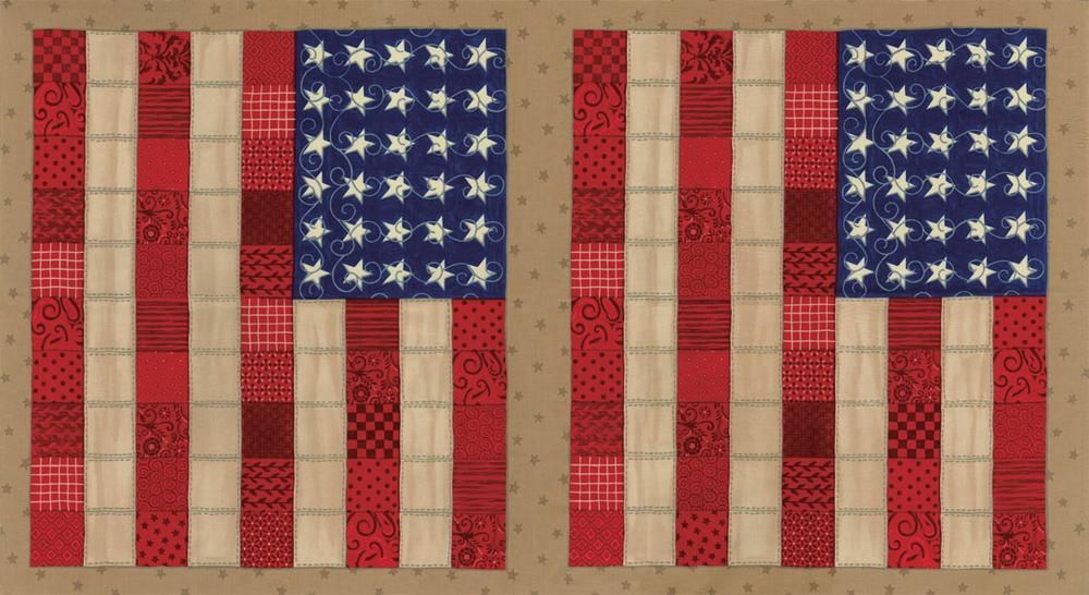 sew american panel traditional