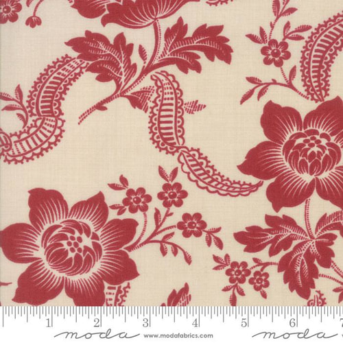 Pondicherry Pearl Red 13780 11by French General for Moda+