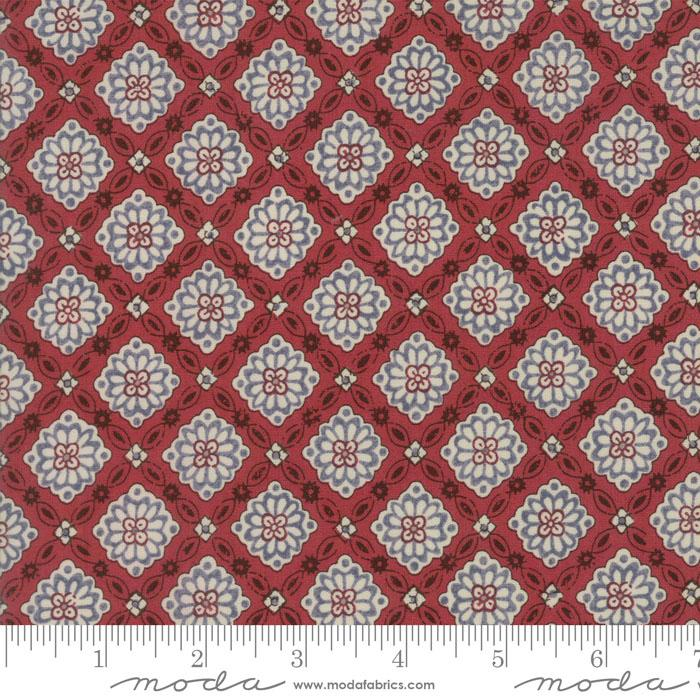 Pondicherry Indian Red 13783 16 by French General for Moda+