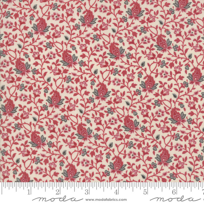 Pondicherry Pearl Red 13635 21 by French General+