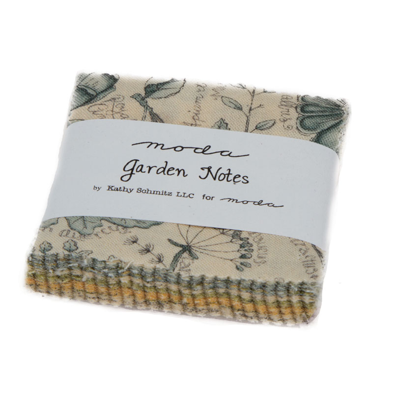 Garden Notes Mini Charm