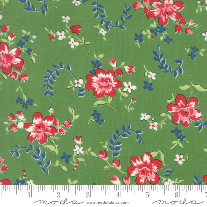 Spring A Ling Mint Floral