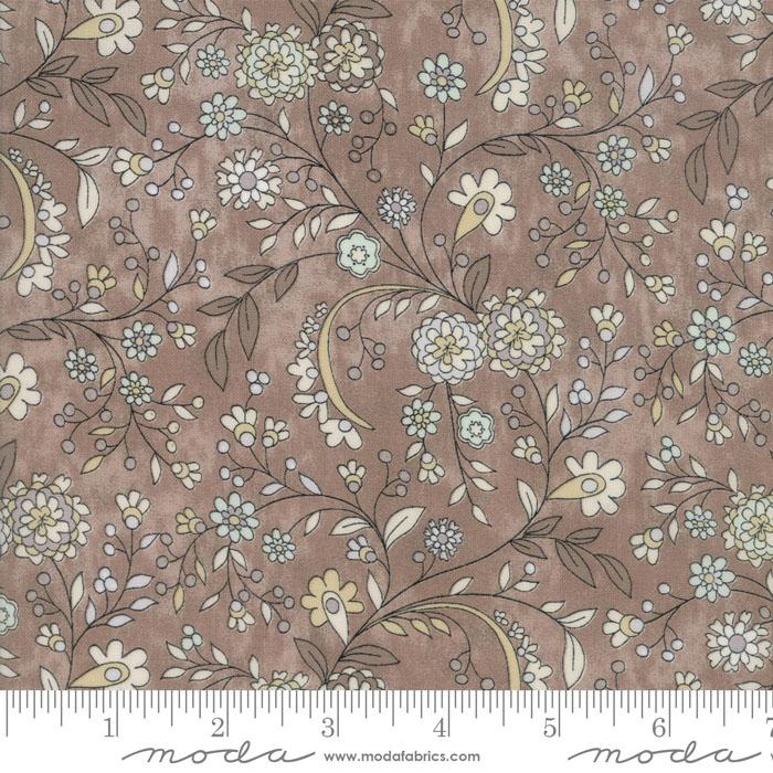Maven Delicate Floral Taupe