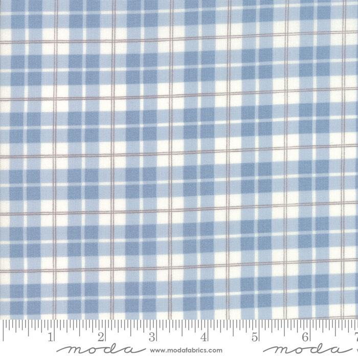 Lily Will Revisited Blue plaid