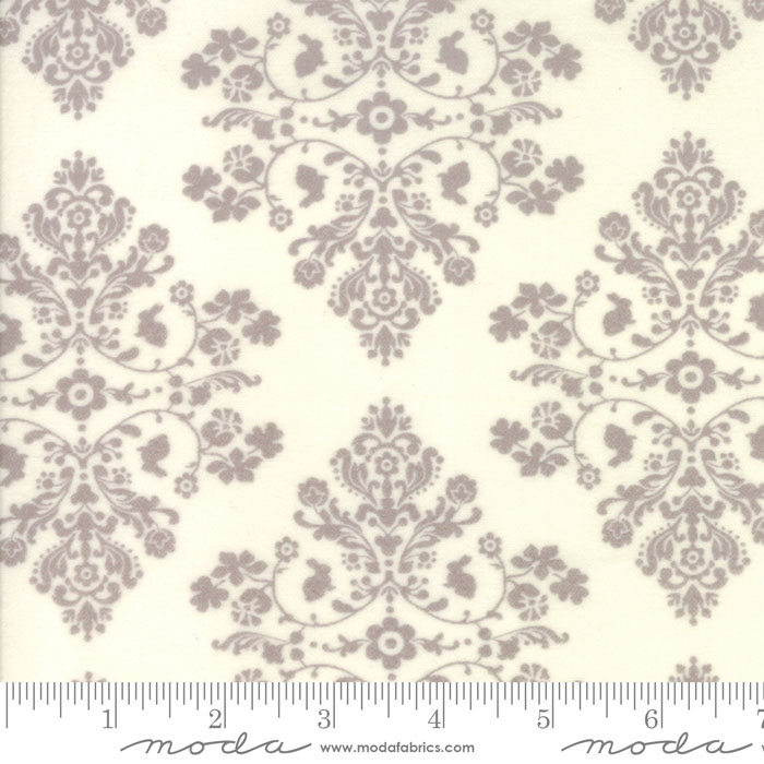 Lily and Will Revisited  - Flannel Cottontail Toile  - Natural - FLANNEL - Moda 2802 47F