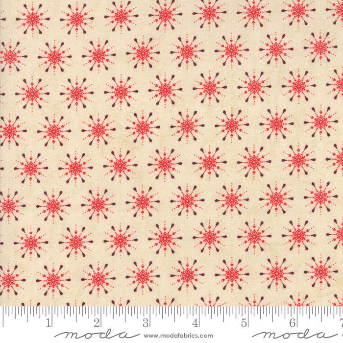 Berry Merry Cream Scarlet