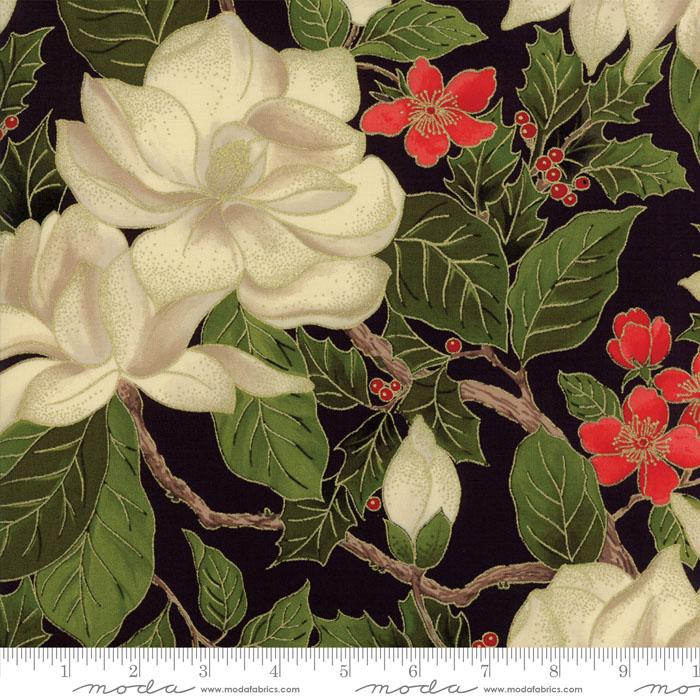Magnolia Metallics Black