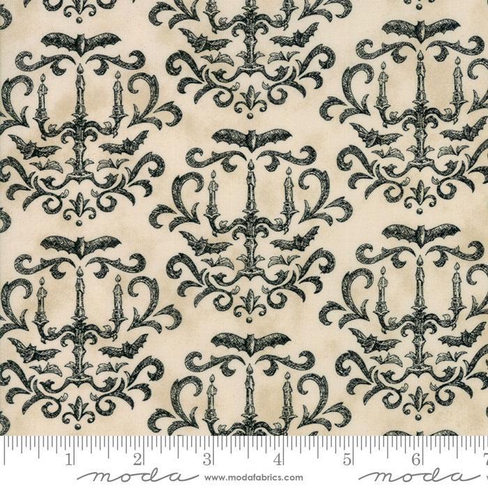 Eerily Elegant Parchment Chandelier
