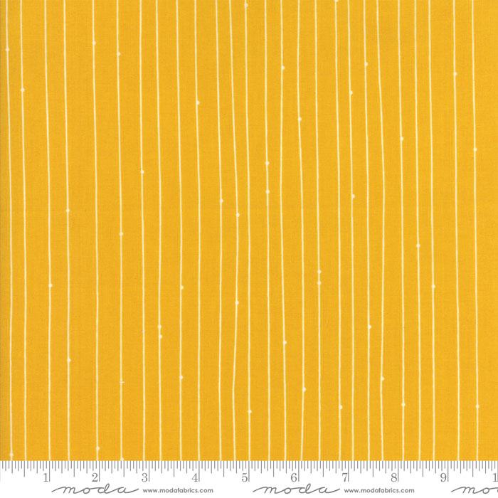 Fragile Stripes Mustard