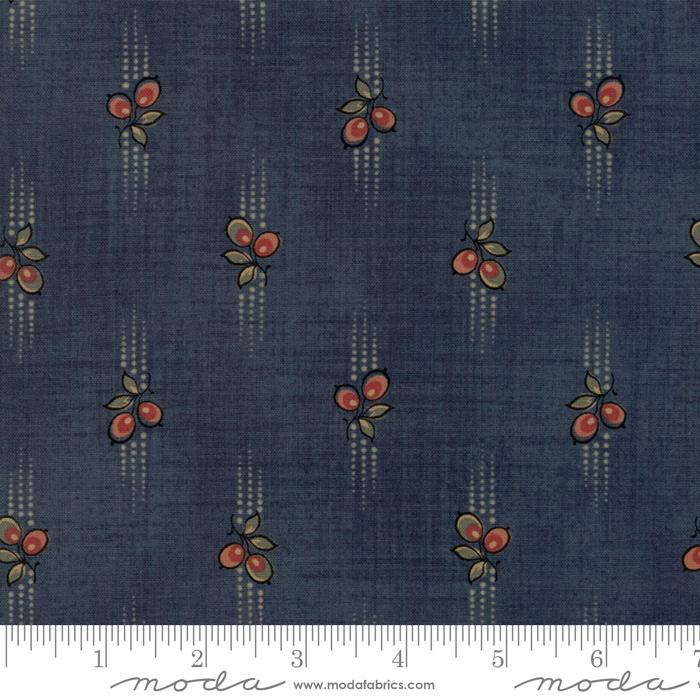 Moda - Grace's Garden 1820 1860-GrabApple Teal - 31552 15