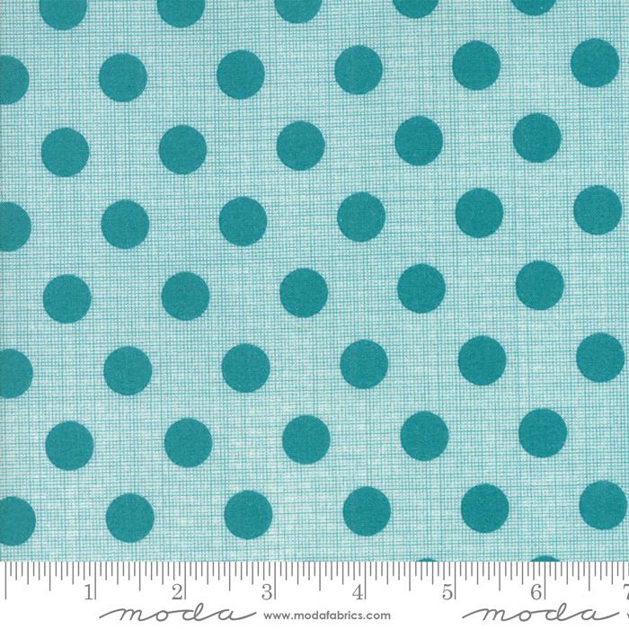 Circulus - Turquoise Dots Yardage