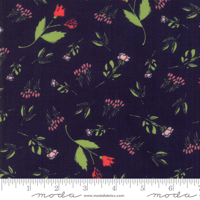 The Front Porch Navy Floral