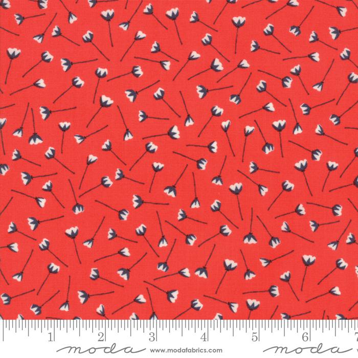 Moda The Front Porch Pomegranate 37542 16