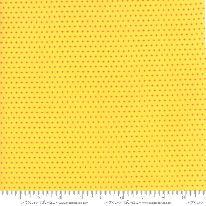 Mamas Cottage - Yellow w/Orange dots