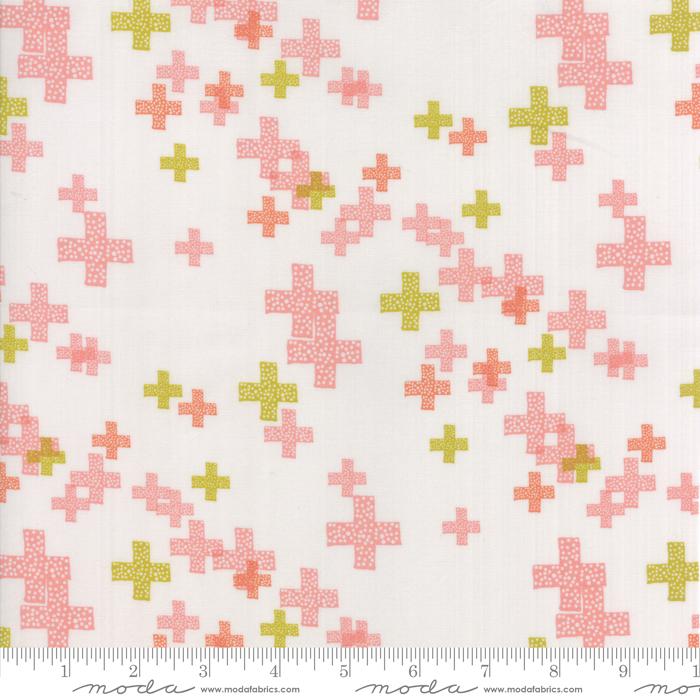Item#11012.C - Modern Background Colorbox Fog Peach - Moda - Zen Chic - Bolt# 11012.C