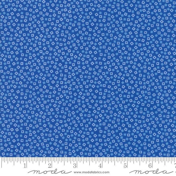 Bluebonnet Patch Blue Squares