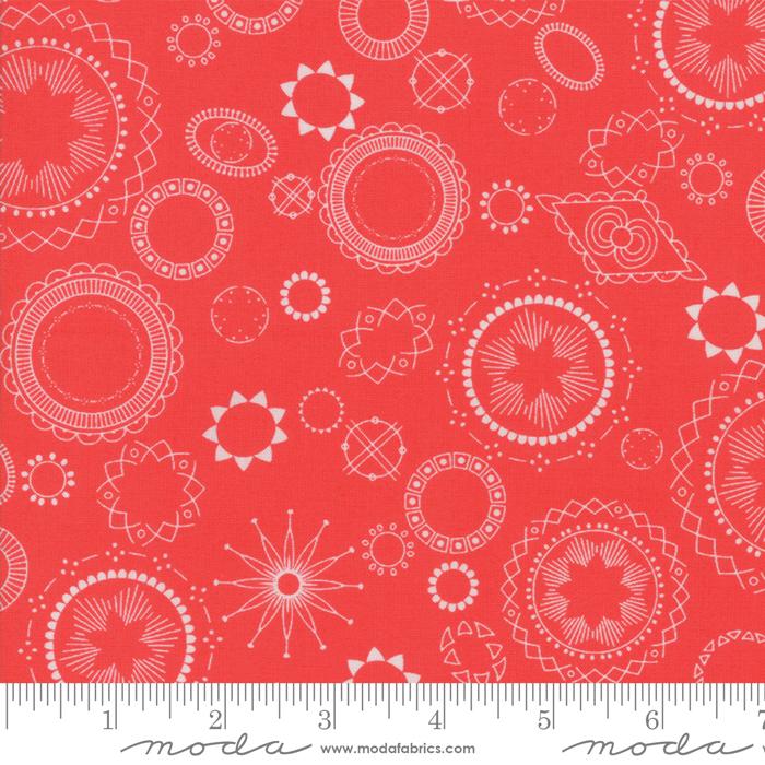 3540 17 Geranium  Wanderlust by Amy Ellis for Moda Fabrics