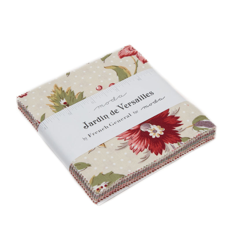Moda - Jardin de Versailles - French General - Charm Pack - 13810PP