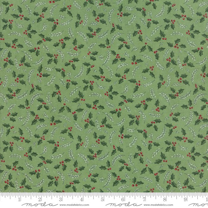Item#11049.B - Hearthside Holiday Pine Green - Moda - Deb Strain - Bolt#11049.B