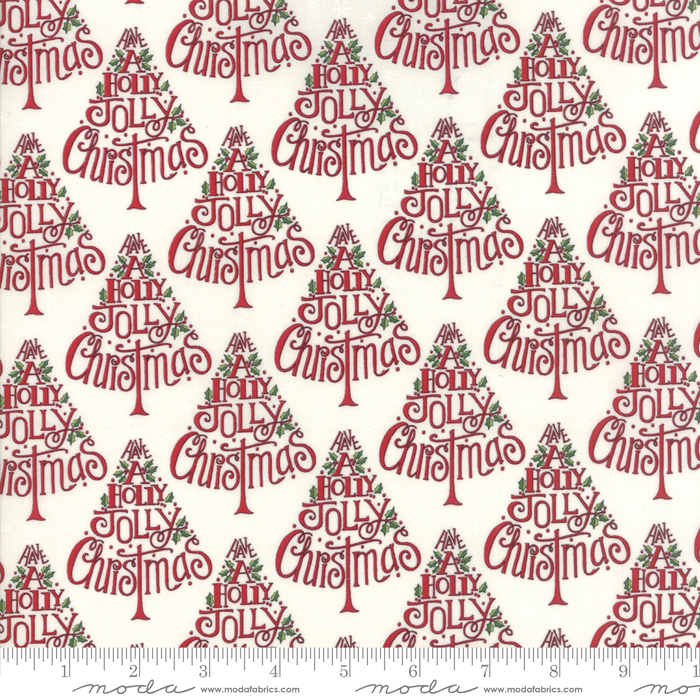 Hearthside Holiday Snowy White Brushed Cotton
