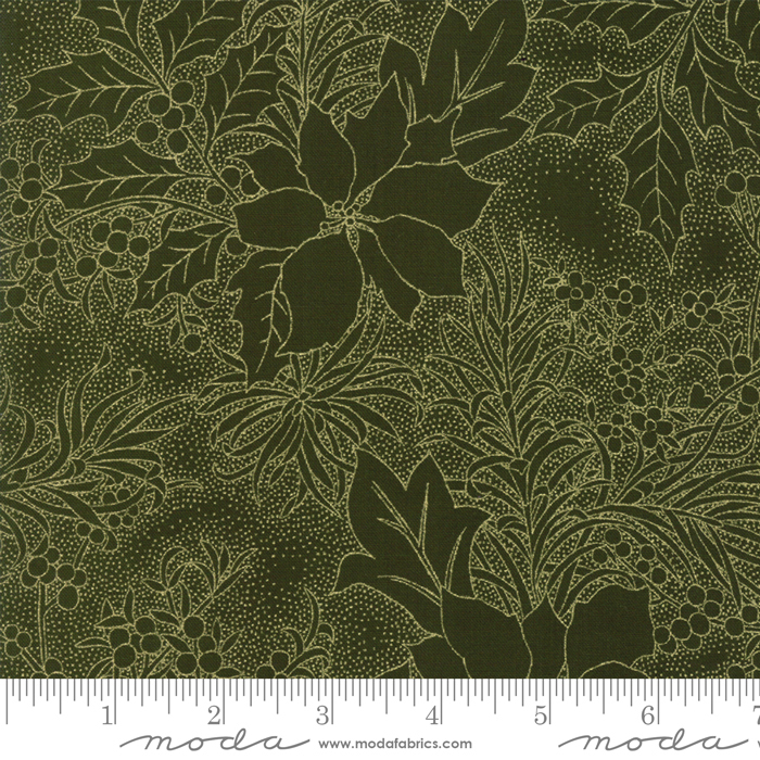 Gilded Greenery Evergreen-metallic