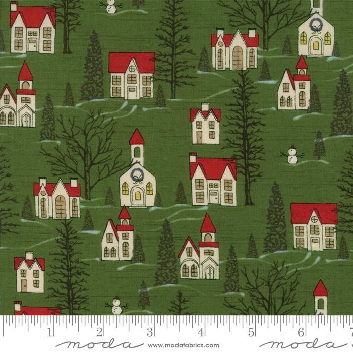 Winter Village- Winter Village in Spruce by Basic Grey
