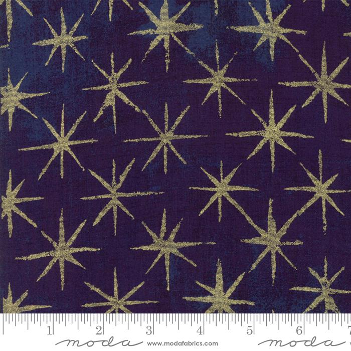 3014832M Grunge Seeing Stars Eggplant