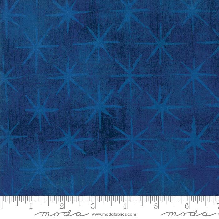 Grunge Seeing Stars Cobalt