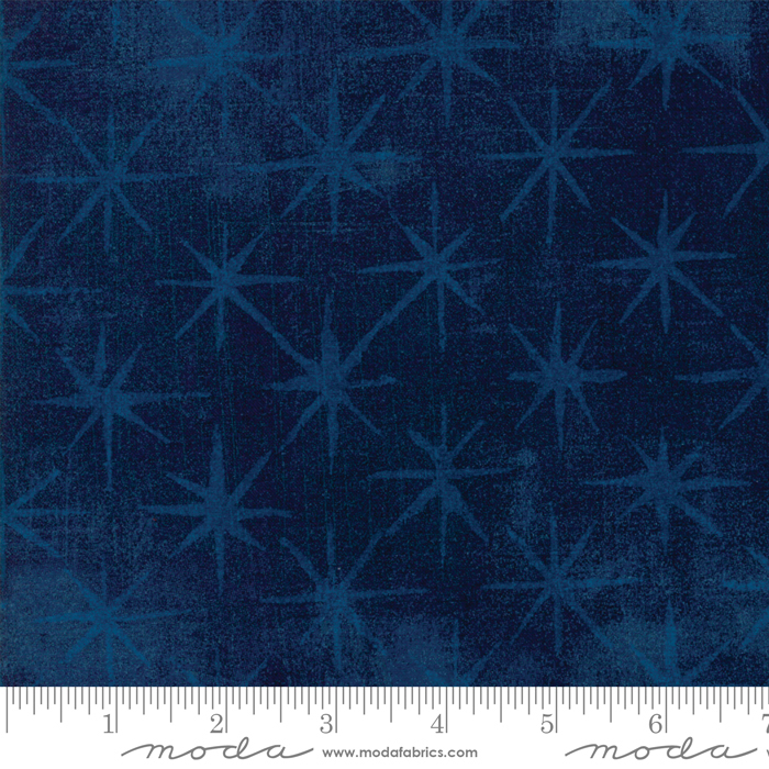 Grunge Seeing Stars Navy