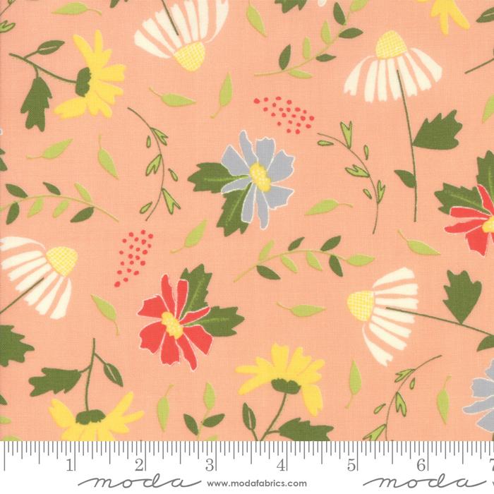 37550 15 Clover Hollow Peachy by Sherri & Chelsi for Moda Fabrics