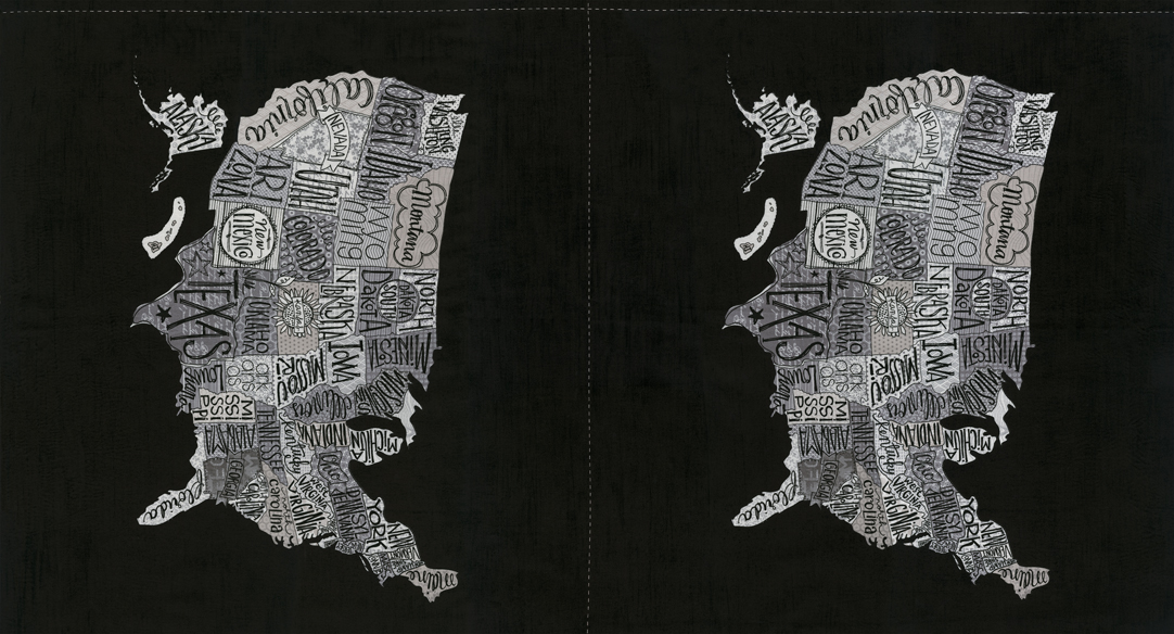 Metropolis Panel 24 x 44 Iron 30560 14
