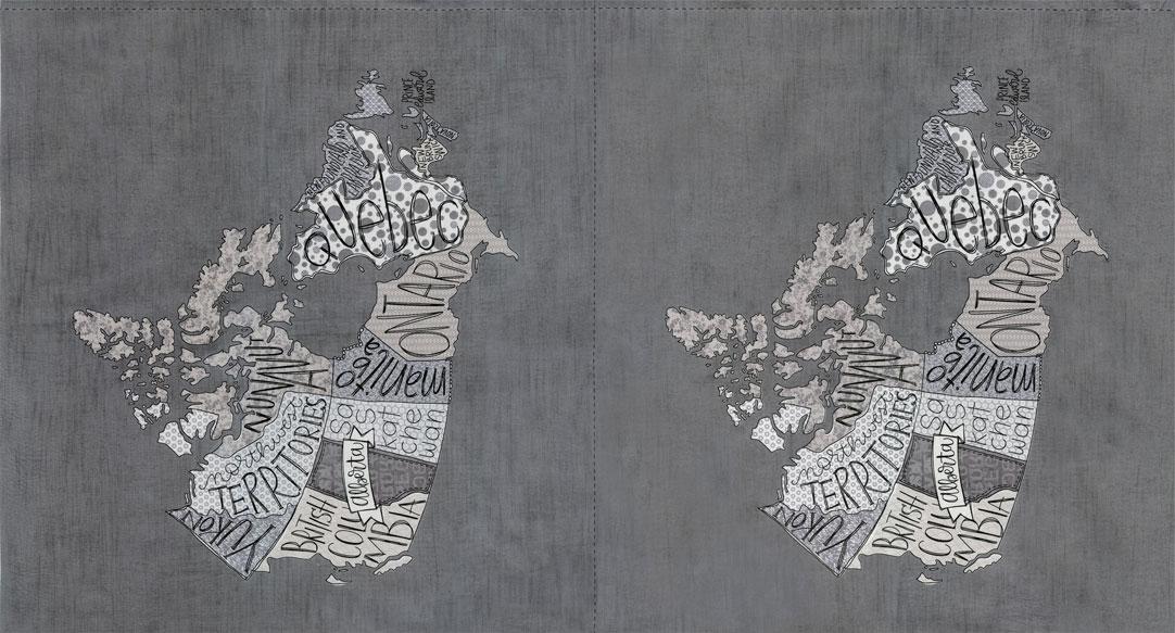 Metropolis Canada Panel Primer- Each panel is one single map