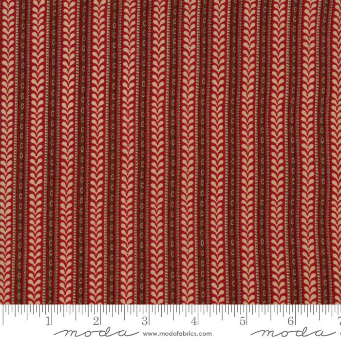 Moda Fabrics - French General - La Vie En Rouge - 13828 11