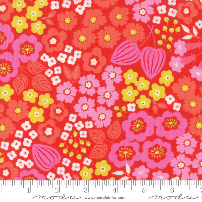 10070 12 Lazy Days Cayenne by Gina Martin for Moda fabrics. 100% cotton 43 wide