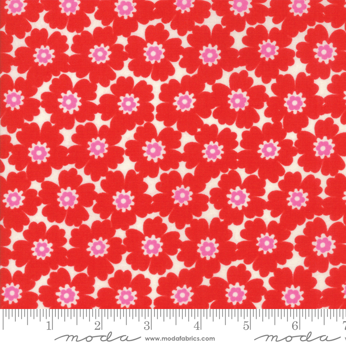 10072 16 Lazy Days Cayenne by Gina Martin for Moda Fabrics