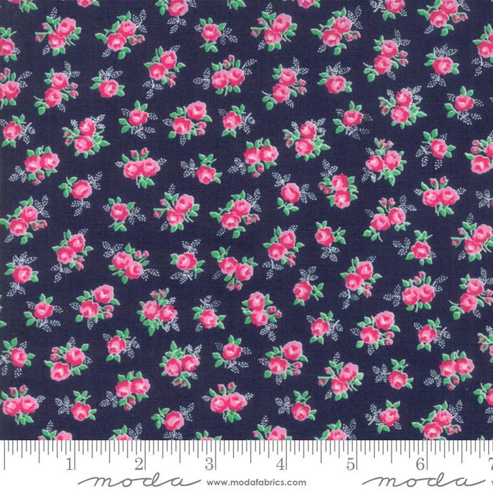 Guest Room Midnight Navy Floral